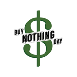 Buy Nothing Day Poster Series