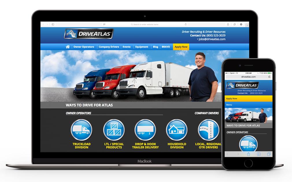 Drive Atlas Website Redesign